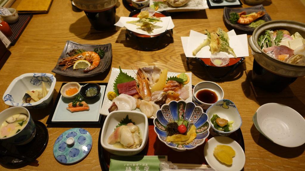 緑風荘の食事